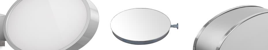 Leuchtkasten oval beidseitig