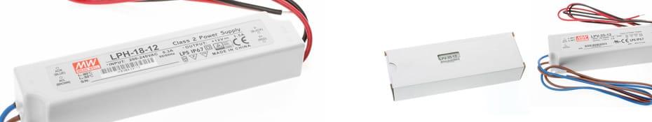 LED-Netzteile für Leuchtkästen