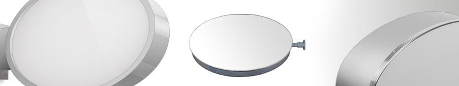 Leuchtkasten oval einseitig