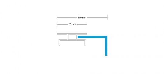 Leuchtkasten-einseitig-haube-100mm