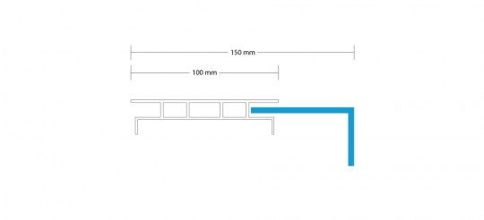 Leuchtkasten-einseitig-haube-150mm