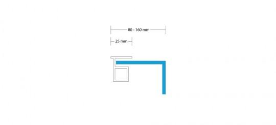 Leuchtkasten-einseitig-haube-80-160mm