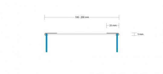 PROFIL 5 BEIDSEITIG 100-200 MM